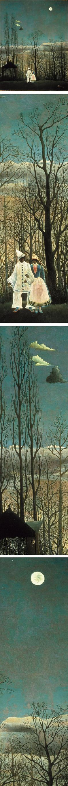 Eye Candy for Today: Henri Rousseau's Carnival Evening