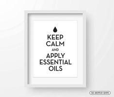 Keep calm! We have our oils.