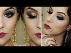 Maquiagem para Festas de Fim de Ano - YouTube