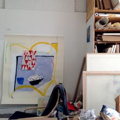 Studio visit with Vicki Sher, Brooklyn, NY