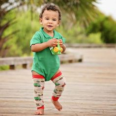 """ConsTRUCKtion Khaki Leghuggers Nubies fit Regular Can also be worn on the arms! """"Little Kids Big Fashion"""" New Fashion Trends, Fashion 101, Big Fashion, Baby Leg Warmers, Everyday Fashion, Nice Dresses, Baby Kids, Children, Boys"""