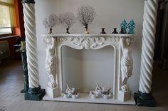 Camino In Marmo Bianco : Camino in marmo bianco arredamento e casalinghi in vendita a parma