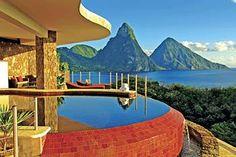 Jade Mountain, St Lucia.