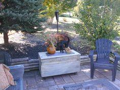 patio fall decor 2014