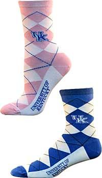 c854452a65a UK Argyle Socks. University of Kentucky
