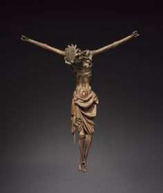 Crucified Christ, c. 1340-1350 Germany, Cologne, 14th century