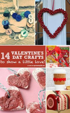 These valentine's day crafts are a wonderful way to decorate your home!