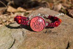 Fire Nation Bracelet from Avatar the Last Airbender by SubtleNerd, $20.00