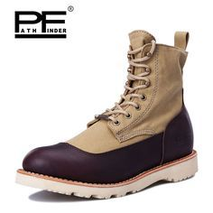 Aliexpress.com : Buy Pathfinder Male Hiking Boots Desert Tactical Combat Boots Wear resistant Army Military Shoes Four Seasons Casual Martin Boots from Reliable shoes high boots suppliers on Pathfinder PathFinder store