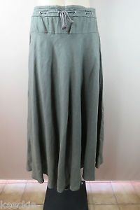 Size 10 S Sportscraft Ladies Green Linen Skirt Boho Business Office Casual Style | eBay
