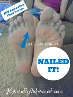 Jen Tries A New Pinterest Project For Your Tootsies | Jenerally Informed