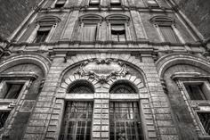 "Bologna. A Beautiful Facade - ""Intriguing Bologna... in Black and White"" by @1step2theleft"