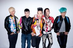 BigBang (K-Pop) por Terry Richardson