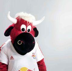 Bullidibumm, mascot of Red Bull Salzburg