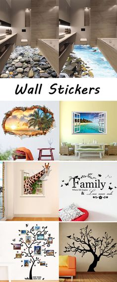 home decor: Wall Stickers