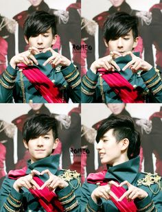 Minwoo he's my favourite. Shh.. Don't tell the others. ;)