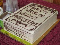 Shakespeare Cake