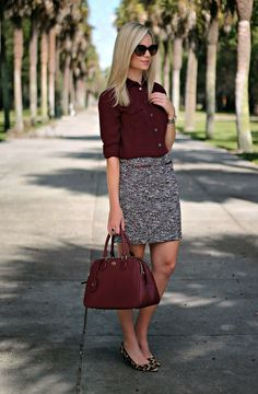 32 Trendy Business Casual Work Outfits Women, If you've been wearing the identical hairstyle for a couple decades, it's time to modify. Even though there are many different blouse styles readily a. Classy Work Outfits, Chic Winter Outfits, Work Casual, Cool Outfits, Summer Outfits, Skirt Outfits, Casual Summer, Casual Winter, Semi Casual