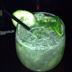 25 degrees cucumber mojito best thing ever