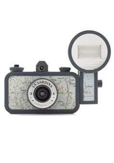 Everybody needs a camera...just maybe not this one. La Sardina Lomography Camera in Copernicus, #ModCloth $110