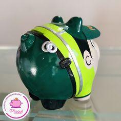 Piggy Bank, The 100, Africa, Instagram, Sink Tops, Painted Horses, Pigs, Money Box, Savings Jar