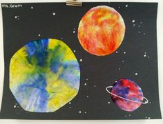 Art with Ms. Gram: Out of This World Art! (1st)