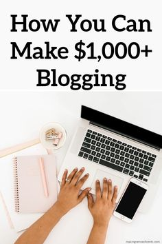 Ways To Make Pennies, Hundreds or Thousands A Month By Blogging Make Money Blogging, Make Money Online, How To Make Money, Online Income, Online Jobs, Work From Home Jobs, Extra Money, Business Tips, Making Ideas