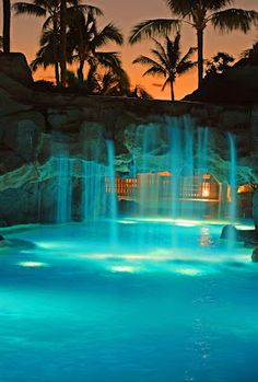 Maui, Maui Marriott. We are so sneaking over here on our honeymoon just to swimm in that :)