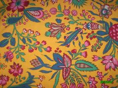tissu provençal, motif floral