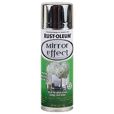Specialty Mirror Effect Product Page.  The rust-oleum site has a short video on creating mercury glass