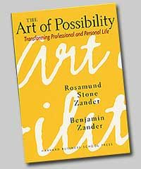 I'm kind of in love with Ben Zander ever since I saw him speak on TED. This has become one of my go-to books when I'm looking for a hit of inspiration.