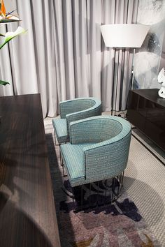 Luxury Contemporary Italian Candy Armchair, Upholstered in fabric- Italian Designer & Luxury Furniture at Cassoni.com