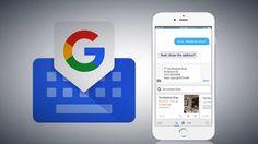 Ya disponible Gboard, el teclado de Google para iOS
