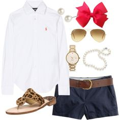 OOTD by classically-preppy on Polyvore vacation travel outfit                                                                                                                                                                                                                                                                                                                                                                                                                                                                                                                                                             by classically-preppy