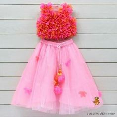 Baby Girl Dress Patterns, Little Girl Dresses, Girls Dresses, Flower Girl Dresses, Baby Dresses, Baby Lehenga, Kids Lehenga, Kids Ethnic Wear, Baby Frocks Designs