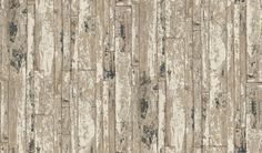 Driftwood (1987/125) - Prestigious Wallpapers - A detailed, faded wood panelling design with a hand painted effect. Shown here in various shades of bronze and brown. Other colourways are available. Please request a sample for a true colour match. Pattern repeat is 61cm. Paste-the-wall product.
