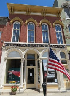 USA (North America): American Museum of Magic in Marshall, Michigan Marshall Michigan, Travel Info, Day Trip, Vacation Spots, Magic, Main Street, American, House Styles, Museums