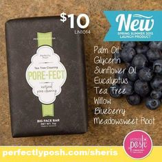 Great for cleaning pores and making them perfect!  Www.perfectlyposh.com/sheris