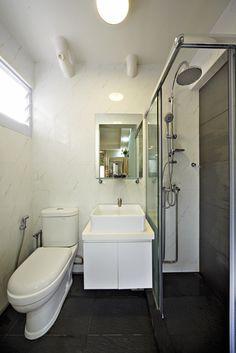 Master Bedroom Toilet 3 room hdb flat in tampines, singapore. master bedroom toilet. it