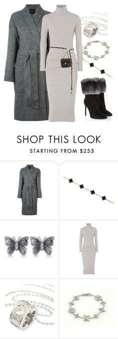 """""""Winter nights"""" by ellenfischerbeauty ❤ liked on Polyvore featuring Alexander Wang, Van Cleef & Arpels, Allurez, James Perse, Chanel, Louis Vuitton and Christian Dior"""