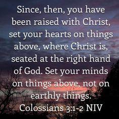 Colossians 3:1-2