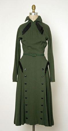 Dress, Jacques Fath, 1949.