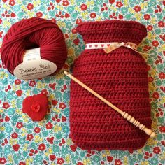 Free Crochet Hot Water Bottle Cover Pattern