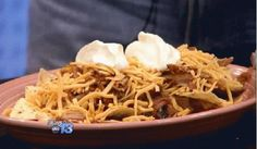 Pig Picking Nachos - Fatso's, Chef Roger Jennings