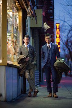 "Natty Adams' 5 Favorite Shots From ""I Am Dandy: The Return of The Elegant Gentleman"" Mens Fashion Suits, Mens Suits, Men's Fashion, Asian Men Fashion, Dandy, Rockabilly Man, Style Gentleman, Asian Suits, Style Costume Homme"
