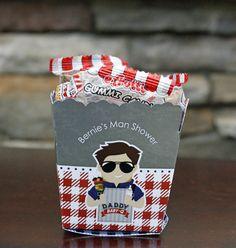 Daddy Baby-Q Man Baby Shower Ideas