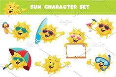 Sun Character Set #character