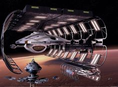 Utopia Planitia by overseer Drydock by Nico Weigand Intrepid-class by Sarod Akira-class by Ian Bremner Regula-class starbase by Rick Snider