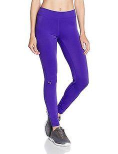 98a565450153e Medium Black Under Armour UA HG Women's Fitness Leggings for sale online    eBay
