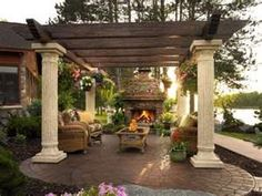 old world pergola